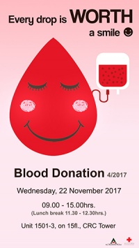 Blood Donation 4/2017
